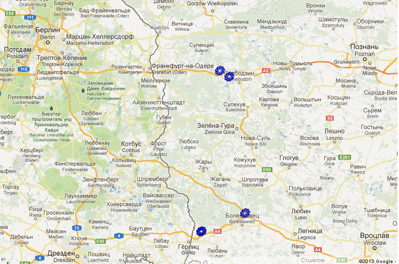 Мотели Picaro для транзитного ночлега в Польше